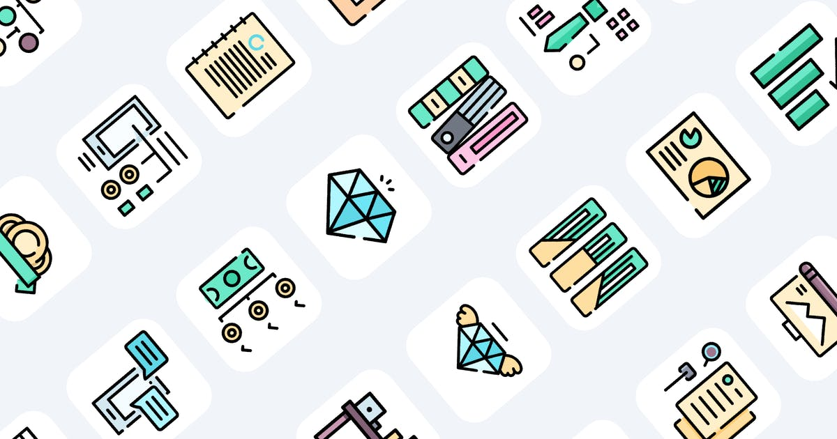Download 100 Business Icons by Guapoo