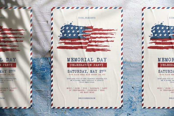 Thumbnail for U.S Memorial Day Flyer