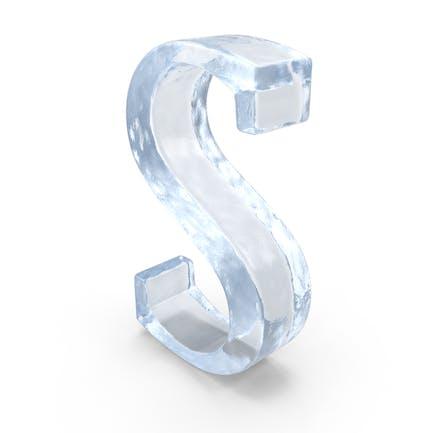 Letra ICE mayúscula S