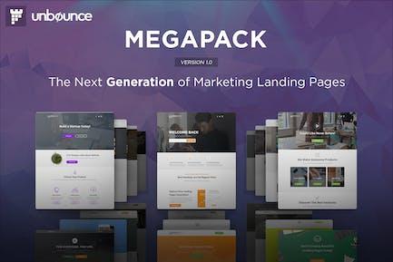 MEGAPACK - Multipurpose Unbounce Templates Pack