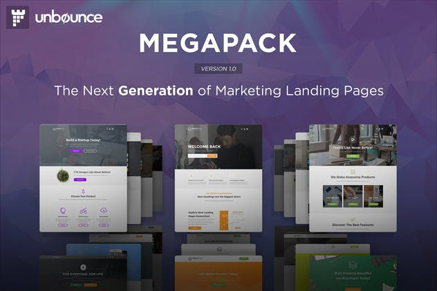 MEGAPACK - Multipurpose Unbounce Templates Pack