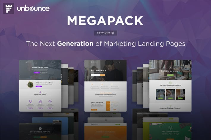 Thumbnail for MEGAPACK - Multipurpose Unbounce Templates Pack
