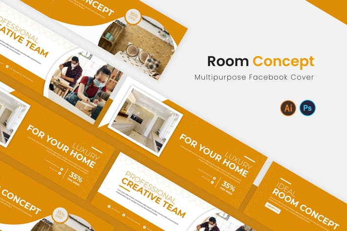 Thumbnail for Room Concept Facebook Cover