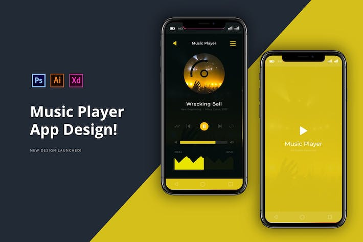 Thumbnail for Musik-Player-App
