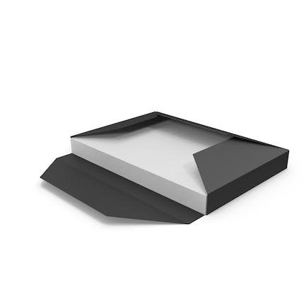 Black Folder Sleeve with Papers