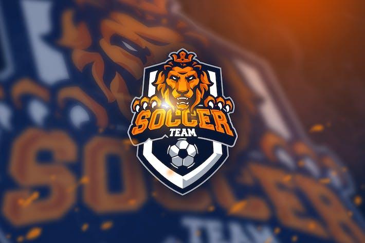 Thumbnail for Soccer Tiger - Mascot & Esport Logo