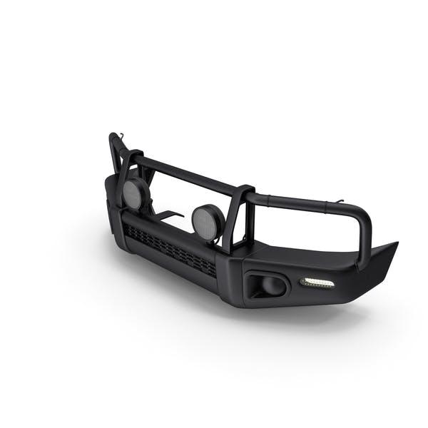 Black Steel Bullbar