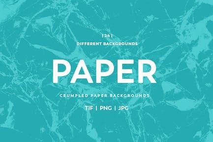 Zerknitterte PapierHintergründe