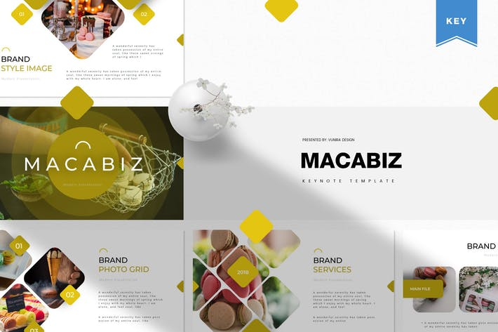 Thumbnail for Macabiz | Keynote Template