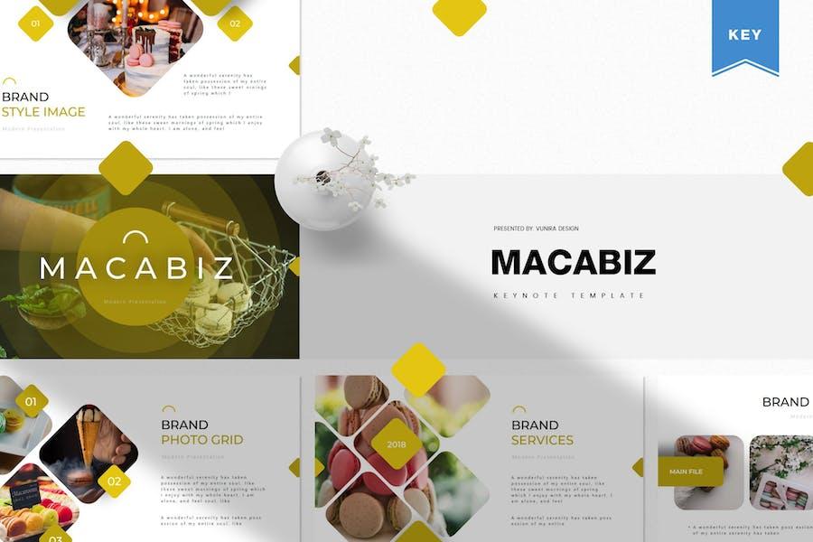 Macabiz | Keynote Template