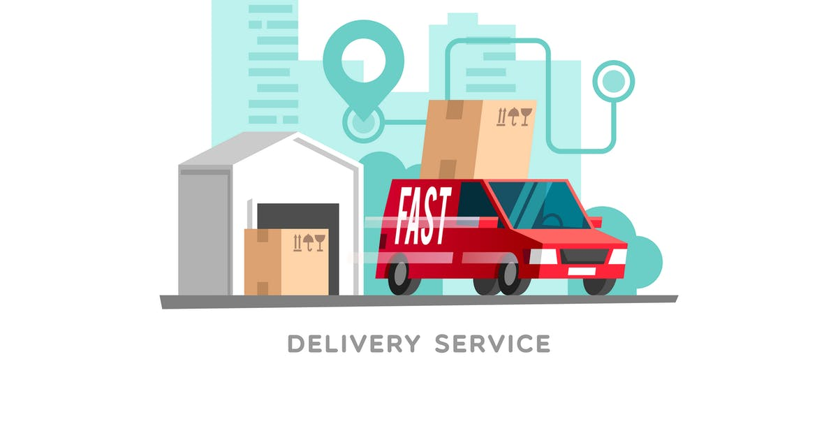Download Concept of the Delivery Service by Faber14