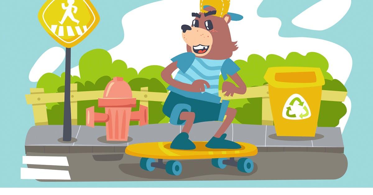 Download Fabel Bear Kids Illustration by Slidehack