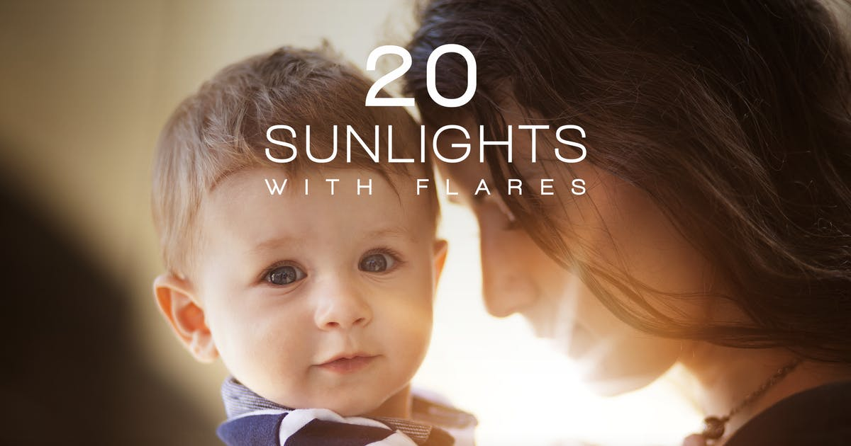 Download 20 Sunlights with Flares by vasaki
