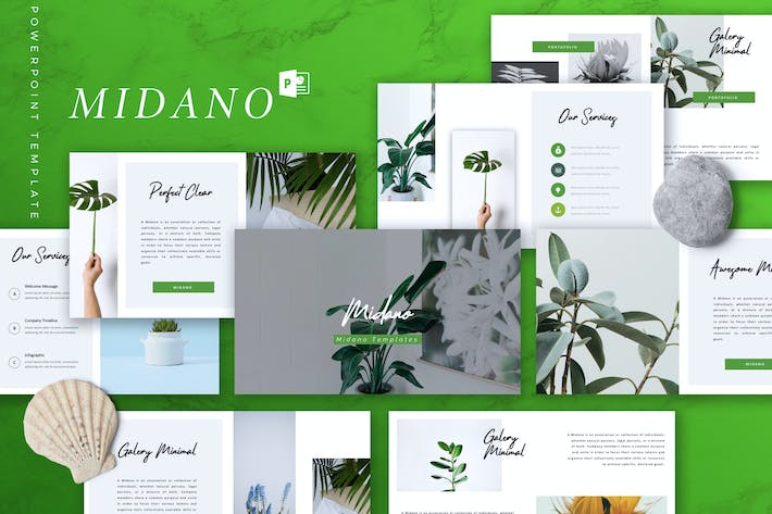 Thumbnail for MIDANO - Creative Powerpoint Template