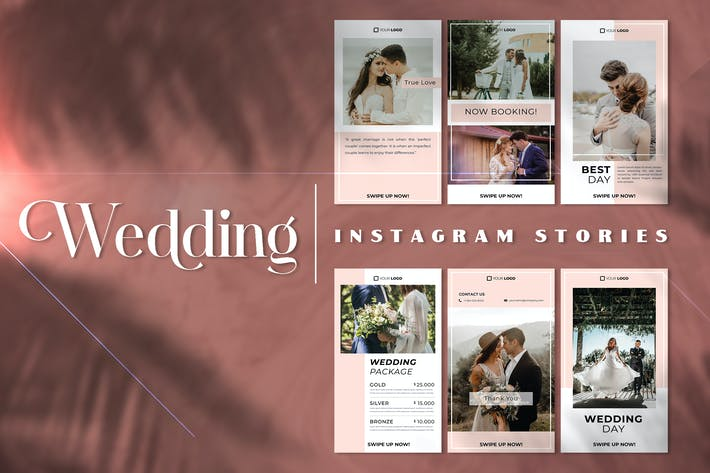 Thumbnail for Wedding Instagram Stories