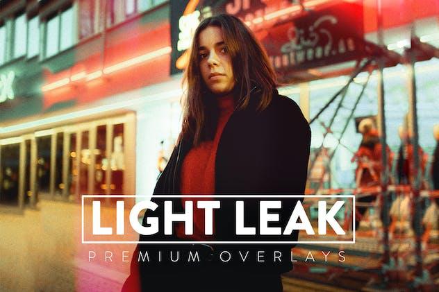 120 Light Leaks Overlays