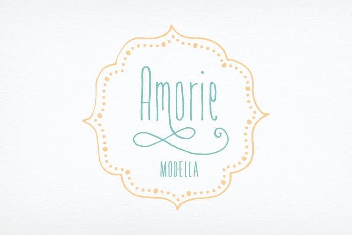 Cover Image For Amorie Modella Font Family