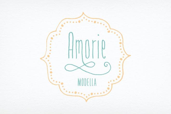 Thumbnail for Amorie Modella Font Family