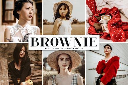 Brownie Mobile & Desktop Lightroom Presets