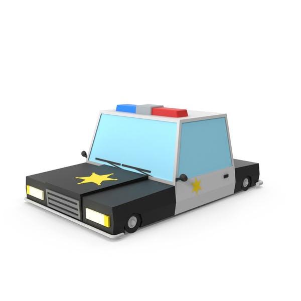 Thumbnail for Cartoon Police Car