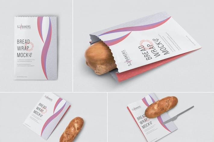 Thumbnail for Bread Packaging Mockups