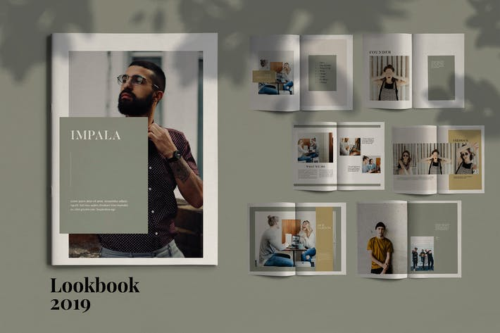 Cover Image For IMPALA - Brochure Template