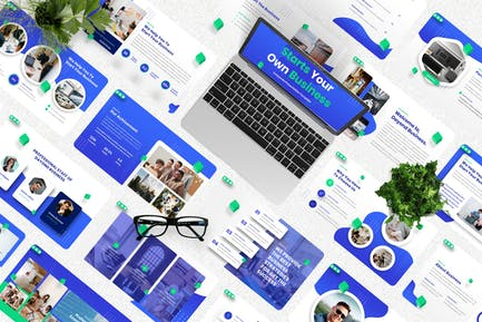 Dayond - Corporate Googleslide Template