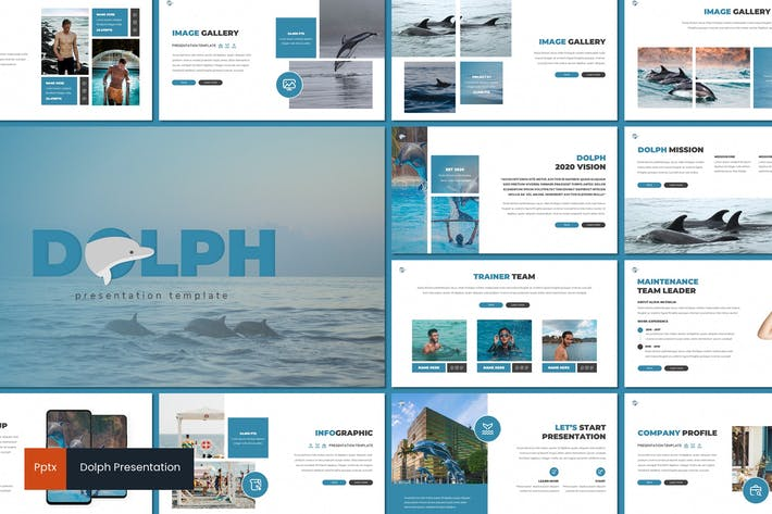 Thumbnail for Dolph - Powerpoint Template