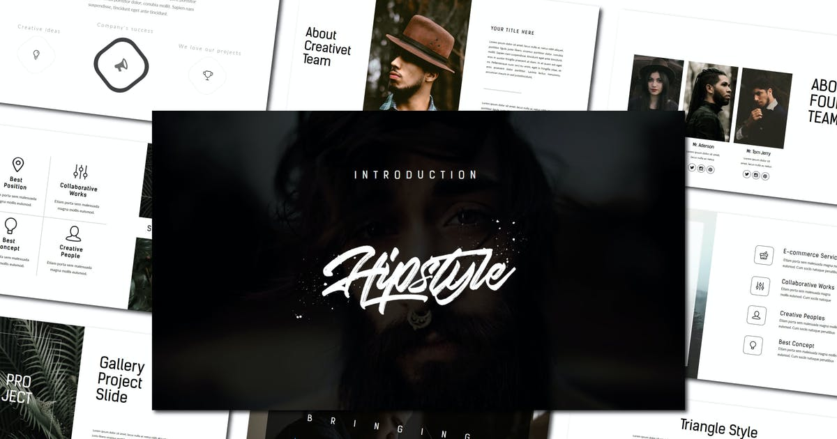 Download Hipstyle | Keynote Template by amarlettering
