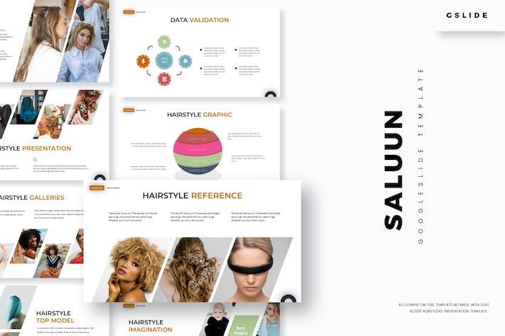 Thumbnail for Saluun - Google Slides Template