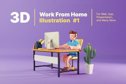 3D работа из дома 1
