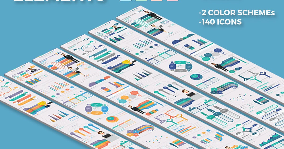 Infographic Element Design by mamanamsai