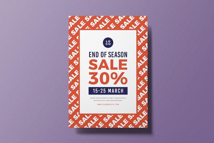 End of Season Sale Flyer