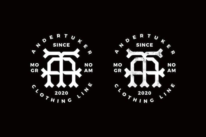 Monogram Logo AT