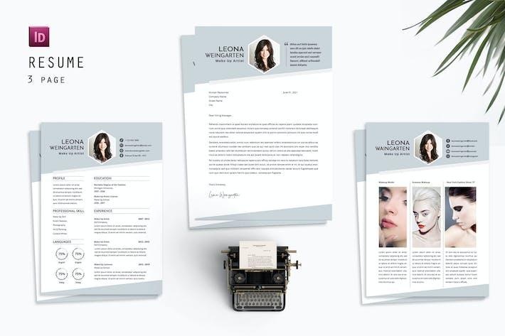 Thumbnail for Carol Holmes Resume Designer