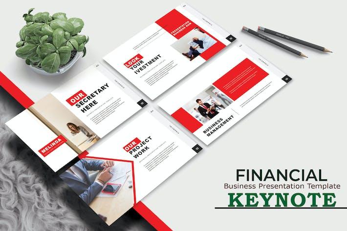 Thumbnail for ФИНАНСОВЫЕ - Бизнес-Keynote