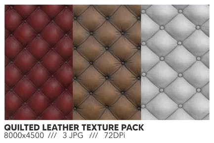 Quilted Leather Texture
