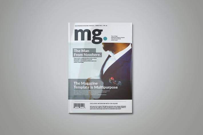 Thumbnail for MG Magazine Template