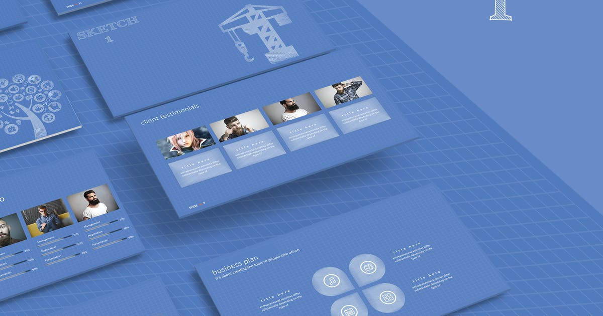 Download SKETCH 1 Powerpoint Template by Unknow
