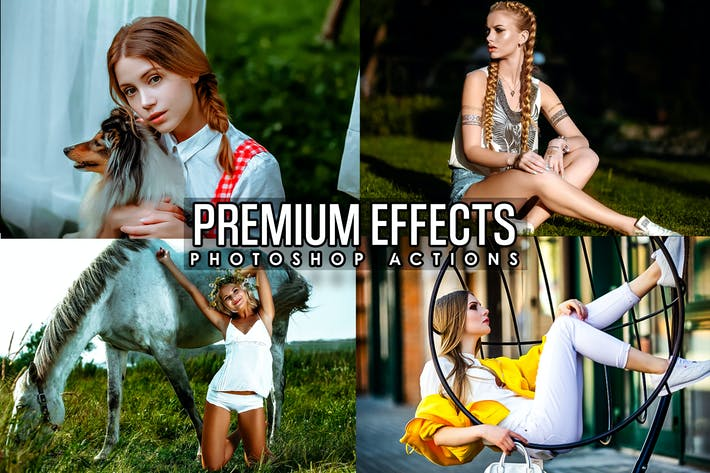 Premium Effects Photoshop Actions