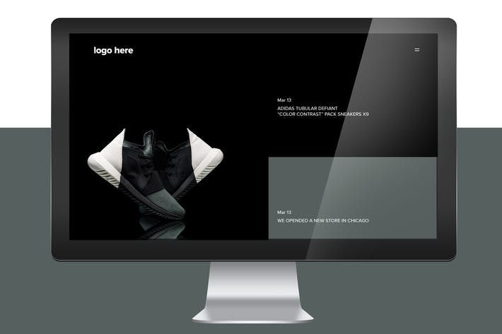 Thumbnail for Clothing Shoes Store Landing Page