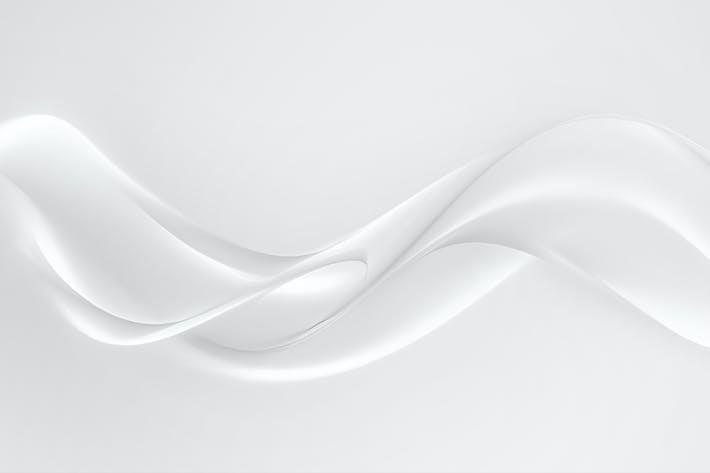 weißer Hintergrund mit weichen Linien