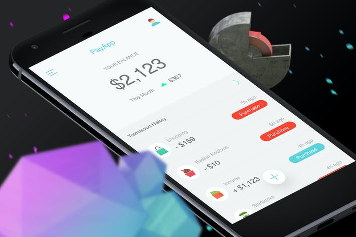 Thumbnail for Pay Mobile Ui - T