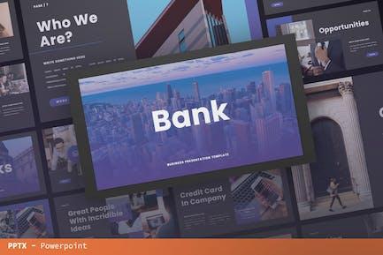 Bank Presentation Template