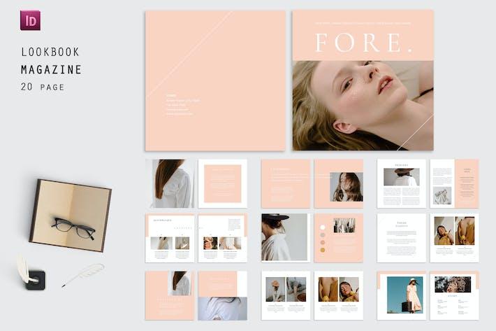 Square Lookbook  -  Magazine