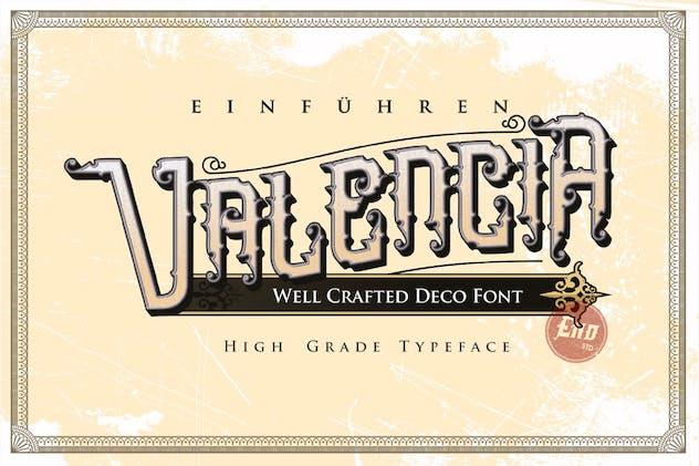 Omnivorous Typeface   Victorian Vintage Font