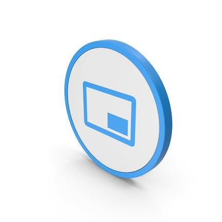 Icon Mini Player Blue