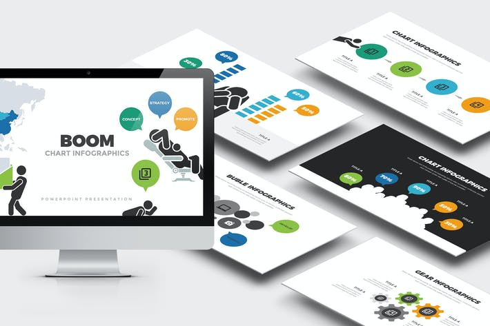 Thumbnail for Boom : Charts Infographics Analytics Powerpoint