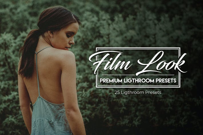 Thumbnail for Film Look - 25 Premium Lightroom Presets