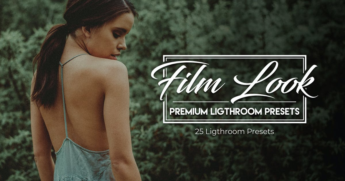 Download Film Look - 25 Premium Lightroom Presets by ClauGabriel